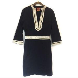 Tory Burch Women's Tunic Dress with Gold Trim